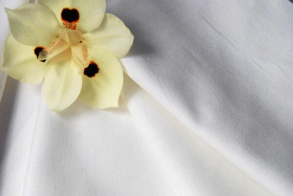 Organic Cotton Micro Twill Ivory