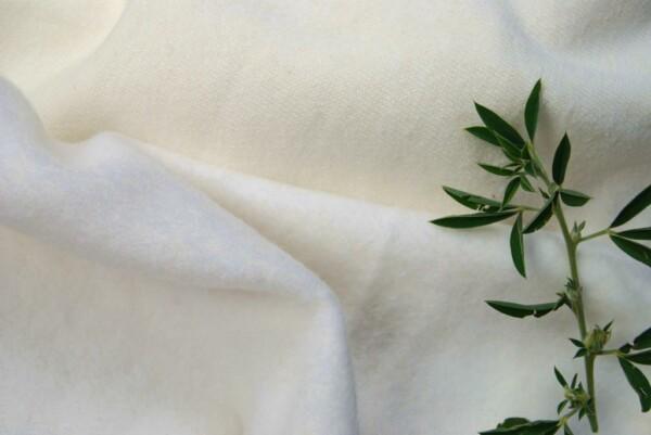 Hemp Organic Cotton Fleecy Natural