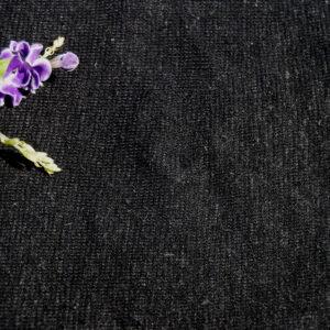 Hemp Organic Cotton Lightweight Knit Black
