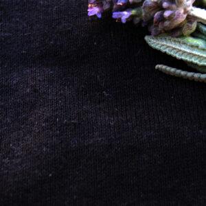 Hemp Organic Cotton T Shirt Knit Black