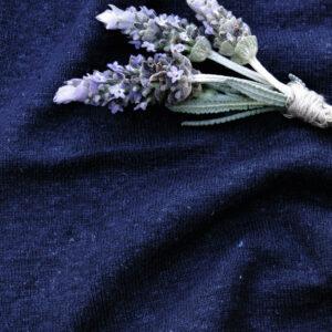 Hemp Organic Cotton T Shirt Knit Navy