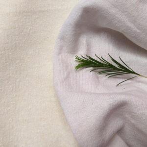 Hemp Organic Cotton T Shirt Knit White-compare-Natural