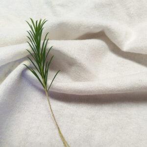 Hemp Organic Cotton T Shirt Knit White