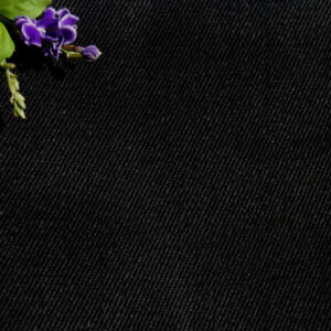 Hemp Organic Cotton Twill Black