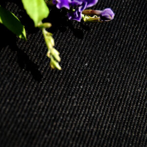 Hemp Organic Cotton Twill Black