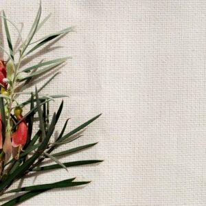Hemp Organic Cotton Crossweave  Natural