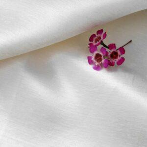 Hemp Silk Satin Natural