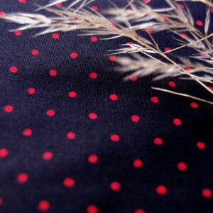 Organic Cotton Poplin- Printed Spot