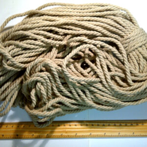 Hemp Rope 4 mm diameter - 50m coil