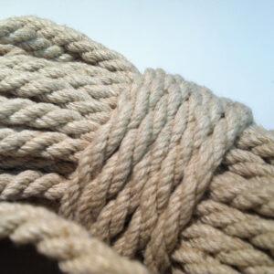 Hemp Rope 4 mm Softened