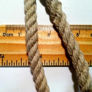 Hemp Rope 6 mm  Softened