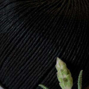 Hemp Twine 1mm -100g Ball Black