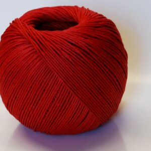 Hemp Twine 1mm - 100g Ball Red