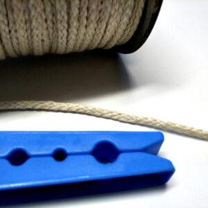 Hemp Braided Cord 2.2mm, 50m Light Natural