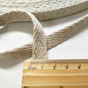 Hemp Webbing 12.5 mm Twill Weave