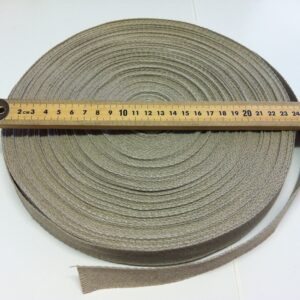 100% Hemp Heading Tape 25mm - 50m Roll
