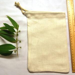 100% Hemp Drawstring Bag /Sprout Bag