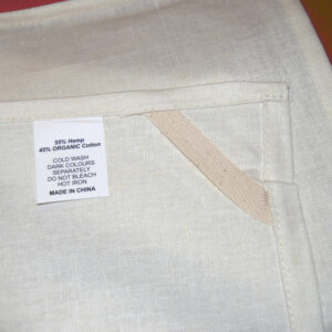 Hemp Organic Cotton Tea Towel - Made In China