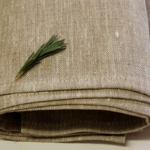 100% Linen Tea Towel OATMEAL