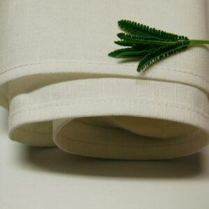 Linen/Cotton Tea Towel White