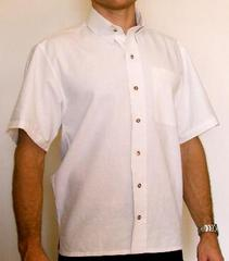 Short Sleeved Mens Button up Shirt