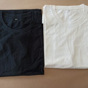 Hemp Organic cotton Men's T-shirt Black & natural